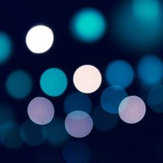 "fine art photography print 8x8 abstract lights art print - urban city lights bokeh blur print teal blue lilac clickety ""Those City Lights"""