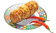 www.kurtos-kalacs.com Cheese & Chili Chimney cake, Trdelnik, Baumstriezel, Horn Cake, Székely Cake, Hungarian Twister, Куртош калач, Kurtosh or Cozonac Secuiesc.