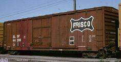 SLSF, Saint Louis and San Francisco Single Door Boxcar, 44288 July Toronto, Ontario