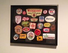 Vintage beer and automotive patches Industrial Home Design, Industrial House, Guy Stuff, Patches, Beer, House Design, Frame, Modern, Vintage
