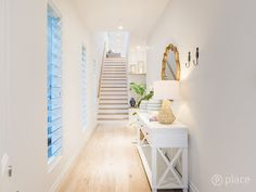 Our Hampton Style Forever Home: A Modern Hamptons Masterpiece Hamptons Style Decor, Hamptons House, The Hamptons, Hamptons Kitchen, Modern Country Style, Hallway Designs, Entry Way Design, Home Interior Design, Hampton Style
