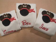 FAST SHIP Personalized Name Kids Minnie Mickey by THERANCHBOUTIQUE, $18.00