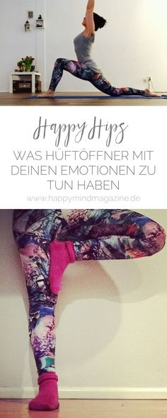 Happy Hips: Was Hip Opener mit Emotionen zu tun haben - Yoga & Fitness Yin Yoga, Bikram Yoga, Iyengar Yoga, Ashtanga Yoga, Vinyasa Yoga, Cardio Yoga, Pilates Workout, Gym Workouts, Yoga Routine