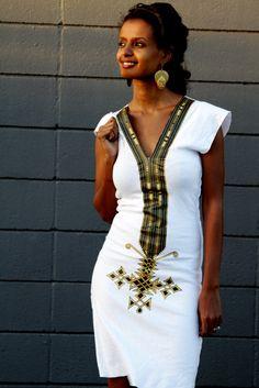 ethiopian clothing eritrean clothes habesha dress ! http://www.flyabs.com/flights                                                                                                                                                     More