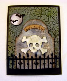 Ann Greenspan's Crafts: EK Success Pirate Skull card