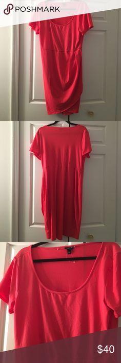 ✨TORRID CORAL DRESS NWOT✨ SIZE 1 Gorgeous color! Fits 12/14 torrid Dresses