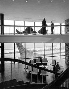 IBM Office Building, 1961, New York State; photo © Pedro E. Guerrero, Courtesy Edward Cella Art+Architecture