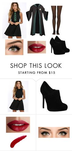 """""""Jade Malfoy"""" by rachel-lynn786 ❤ liked on Polyvore featuring Lulu*s, TheBalm and Fogal"""