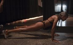 Ernestine Shepherd started working out in her 40's and now she's 74 or 75!