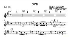 Jubel - Klingande (Saxophone Sheet Music) Alto Sax Sheet Music, Saxophone Music, Clarinet, Laura Lee, Colouring Pages, Saxophones, Music Sheets, Songs, Christian