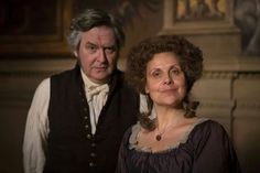 Mr. and Mrs. Bennet, Death Comes to Pemberley