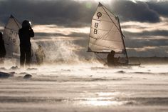 Photo Junior ice-sailing competition by Andrius Repsys on 500px