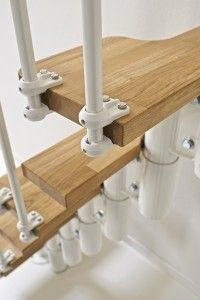 We encounter many people who specifically want to combine the traditional beauty of oak wood, with a contemporary modern staircase design.