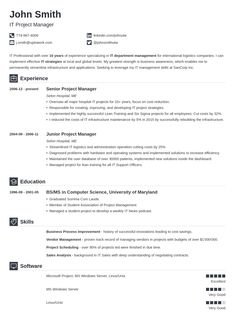 professional - Free Resume Builder Template Download