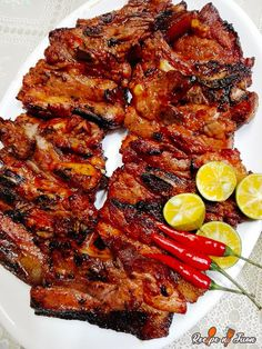 Grilled Pork Belly Recipe, Pork Belly Recipes, Filipino Recipes, Asian Recipes, Filipino Food, Ethnic Recipes, Filipino Dishes, Asian Foods, Barbecue Recipes