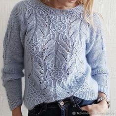 Lace Knitting, Knitting Stitches, Knit Crochet, Knitting Patterns, Girls Sweaters, Sweaters For Women, Knitting Magazine, Crochet Clothes, Knitwear