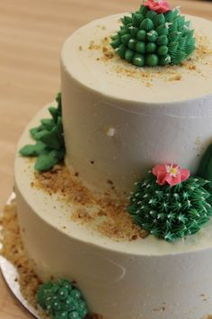 ... Cactus Sombrero Candles Birthday Cake By Party Cake on Pinterest