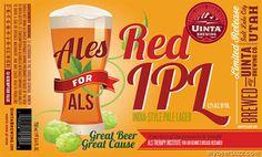 mybeerbuzz.com - Bringing Good Beers & Good People Together...: Uinta - Ales For ALS Red IPL Bottles