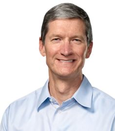 Tim Cook helps an iPhone user unlock his phone. That's some kind of AppleCare!