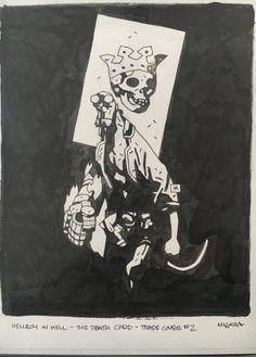 Helllboy In Hell 'the death card' TPB #2 Comic Art