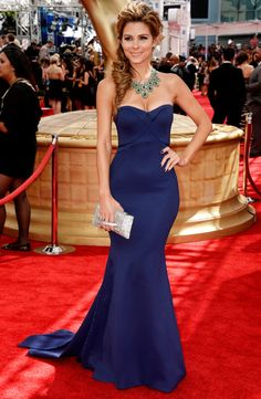 Emmys 2013: Red Carpet Style | Maria Menounos