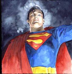 Chris Reeve Superman (Hi there-something wrong with the elevator?)