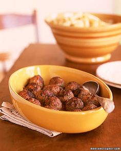 Meatballs with Rigatoni - Martha Stewart Recipes