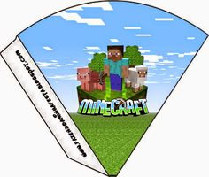 Minecraft: Party Free Printables, Images and Papers. | Oh My Fiesta! in english