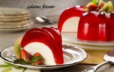 Floating Gelatine l Philadelphia Jello Recipes, Köstliche Desserts, My Recipes, Mexican Food Recipes, Sweet Recipes, Delicious Desserts, Dessert Recipes, Cooking Recipes, Yummy Food