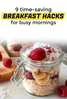 9 Breakfast Hacks to