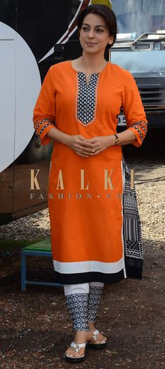 Must have Bollywood Style! Find a style match to the celebrity look of your choice at http://www.kalkifashion.com/salwar-kameez.html