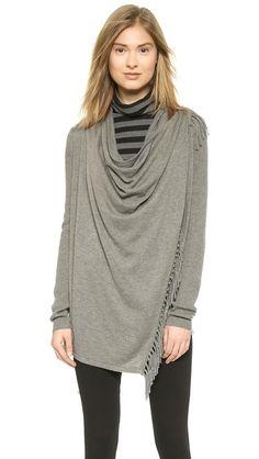Jamison Asymmetrical Fringe Sweater
