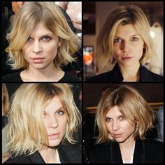 I've always loved French actress/model Clemence Poesy's sexy, understated style. She looks great in hats, has an enviable collection of chic outerwear, and never exhibits more than a hint of makeup...