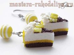 Мастер-класс: Лимонный тортик из полимерного пластика