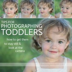 how to get great photos of your toddler & get them to sit still