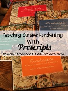 this looks like a great resource for handwriting, copywork, even art...Prescripts