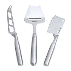 Swissmar Stainless Steel 3Piece Cheese Knife Set *** Check out the image by visiting the link.