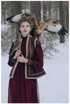 New fairy tales by Katerina Plotnikova for Vogue Italia.
