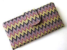 zigzag clutch --patriscorner