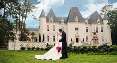 Chateau Cocomar Wedding Please contact The Elegant Side event planning  ssweddings.events247@gmail.com
