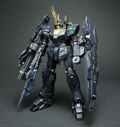 GUNDAM GUY: P-Bandai Exclusive: MG 1/100 Unicorn Gundam 02 Banshee Norn - Painted Build