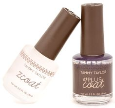 Tammy Taylor Z-Coat (Non-Yellowing Top Coat) Keep Your Reds, Red, and Your Deep Colored Nail Polish from Fading Keep Your French Manicures from Yellowing on Natural Nails Extend the life of your manicures Does Not Yellow on Natural Nails Highest Gloss Top Coat Ever Applies Smoothly Over Tammy Taylor A-Coat (No Streaking) Smoothes Out Bubbles and Streaks, Creating A Flawless Manicure and Pedicure