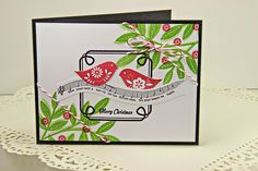 Merry Little Christmas Card by Erin Lincoln for Papertrey Ink (October 2014)