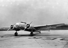Lockheed Model 10 Electra - This is the kind of plane Amelia Earhart flew