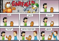 Garfield Comic Strip, May 29, 2016     on GoComics.com