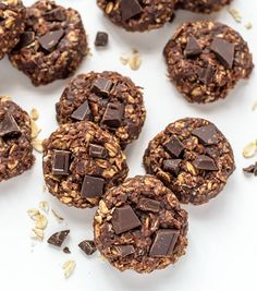 Healthy No-Bake Cookies from Well Plated