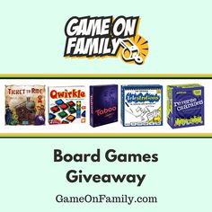 Board Games Giveaway