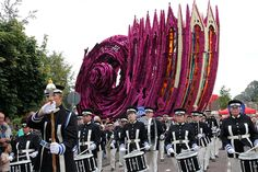 Founded in 1936, the annual Corso Zundert parade is a celebration of the Netherlands' most iconic exports: flowers. The event is held every year in the small town of Zundert where 20 teams of volunteers from different hamlets compete for the best designed parade float. More than being covered almost