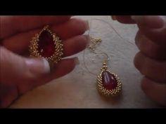 """Tutorial orecchini """"S.Valentino"""" - YouTube"""