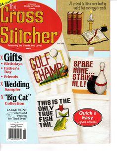 The Cross Stitcher Magazine  June 1995 Issue  LIKE NEW